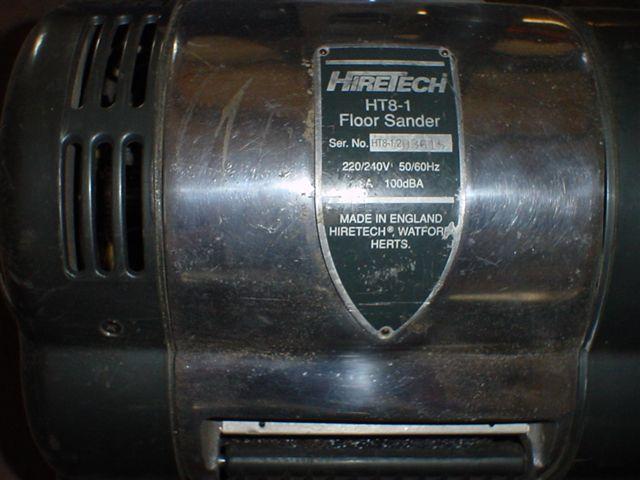 Cykliniarka do parkietów HireTech HT8-1