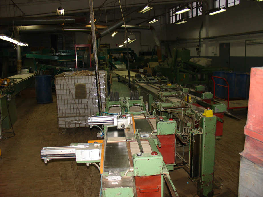 Linia do produkcji mozaiki