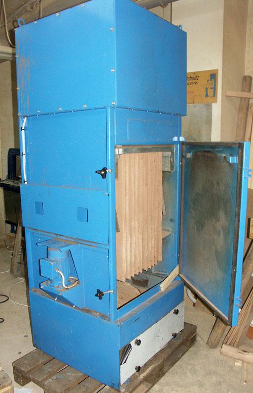 Profesjonalny wyciąg pyłu lub trocin - z filtrem