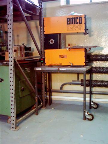 Pilarka taśmowa firmy EMCO BS-3