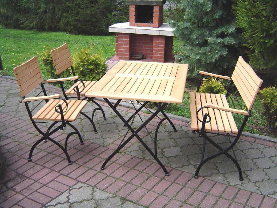 Meble ogrodowe, baseny i sauny ogrodowe
