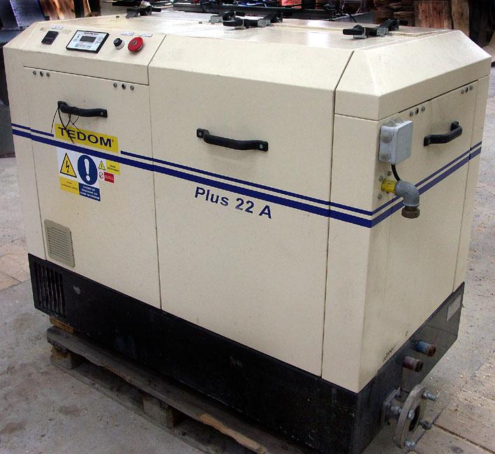 Agregat kogeneracyjny TEDOM 22A prąd +gorąca woda