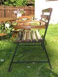 meble ogrodowe z elementami kutymi