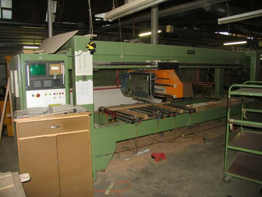 CNC wiertarskie WEEKE