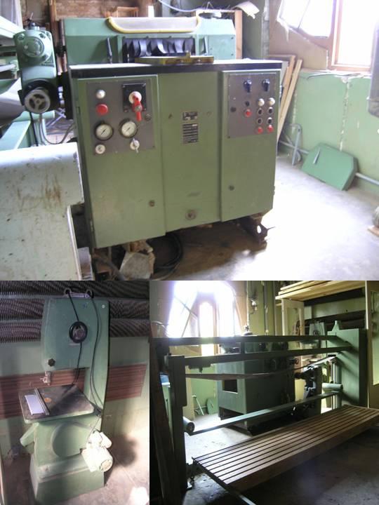 maszyny do obróbki drewna używane