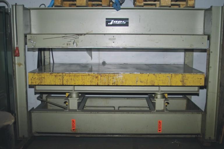 prasa HYDRAULICZNA JOOS - 250 x 135cm
