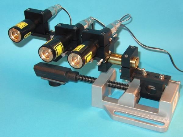 Laserowe generatory linii