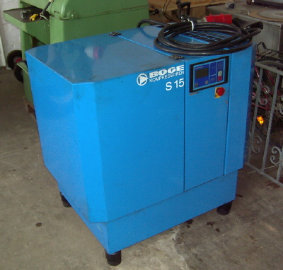 kompresor srubowy BOGE SE15