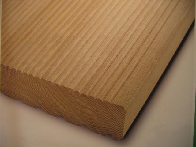 Drewno profilowane.