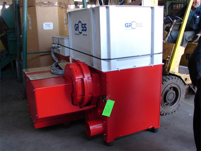 Potargowy rozdrabniacz GROSS GAZ 82 S