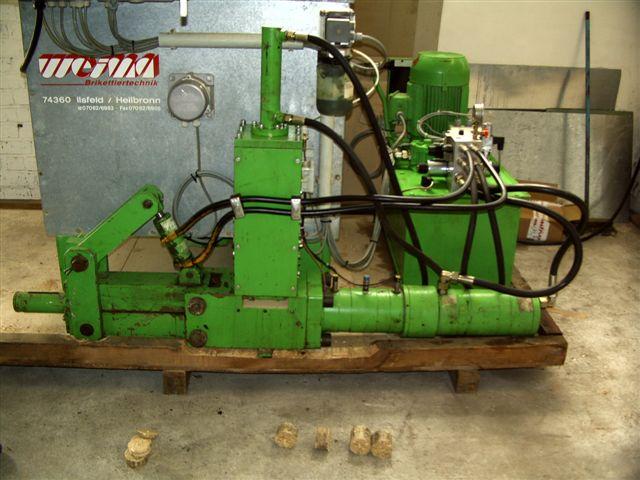 Brykieciarka Weima - wydajność do 180 kg/h