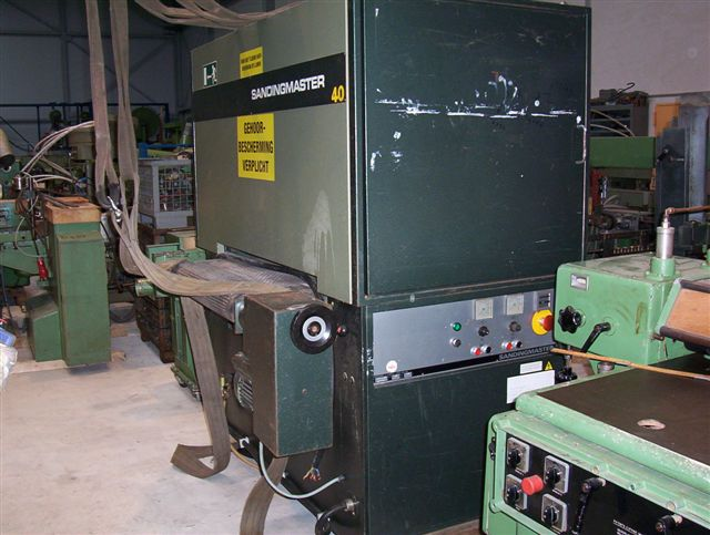 szlifierka szerokotasmowa SANDINGMASTER 900mm