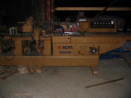 Obrabiarka 4 stronna 6 głowicowa SCM
