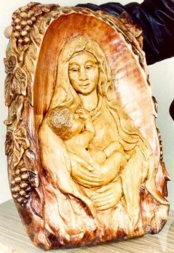 Ekskluzywne wyroby rzeżbione z drewna