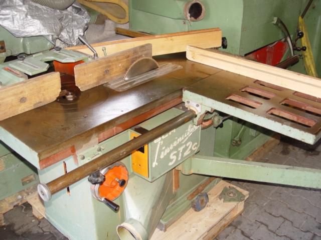 frezarko-pilarka SCM z wozkiem 2,2m