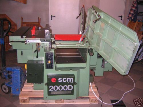 maszyna STOLARSKA 5 w jednym SCM 2000D