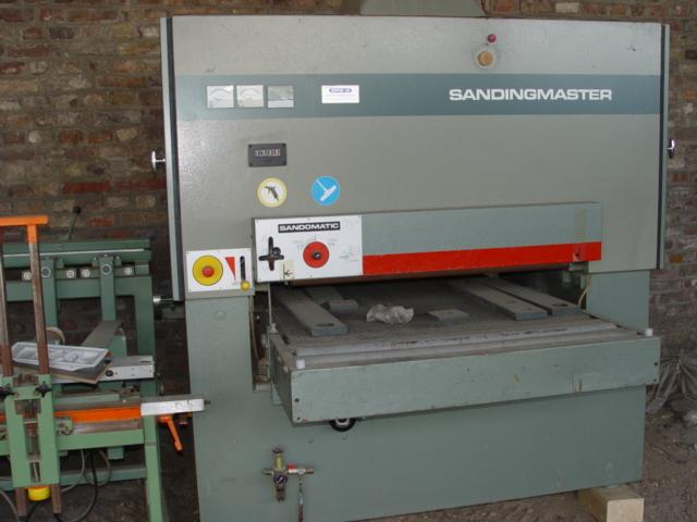szlifierka szerokotasmowa SANDINGMASTER 1100mm