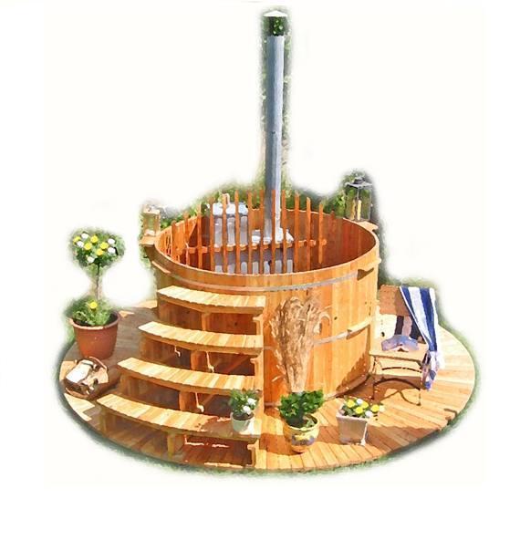 Sauny i baseny ogrodowe