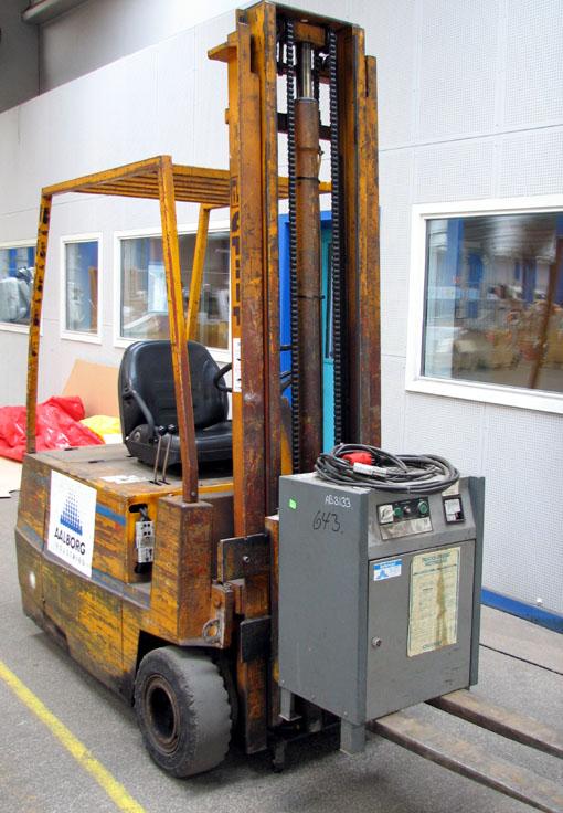 Wózek widłowy elektryczny ATLET produkcji szwedzki