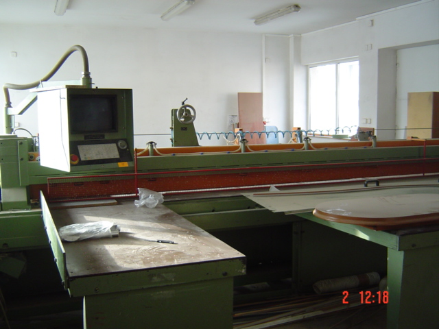 Pila panelowa CNC z optymalizacją SCHEER