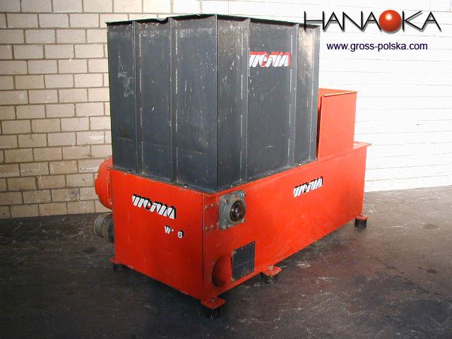 Rębak stacjonarny - wydajność do 600 kg/h