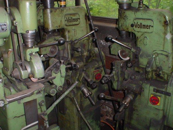 Ostrzałki Vollmer 2 CNA do pił trakowych