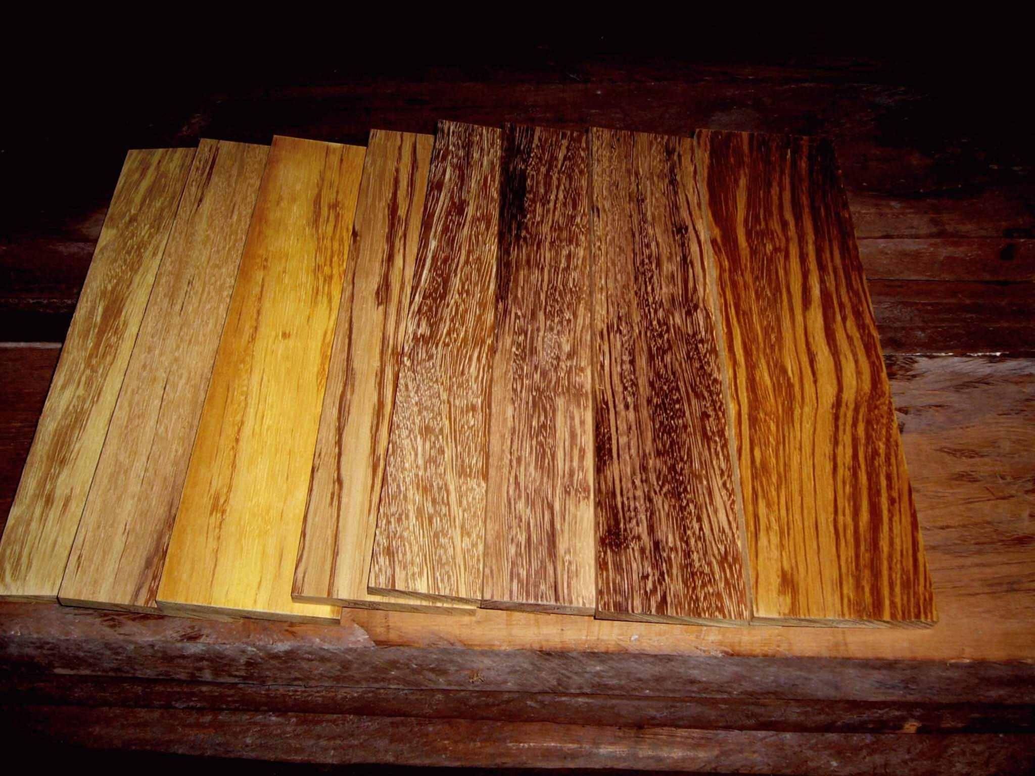 Drewna egzotyczne
