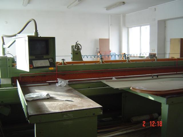 PIŁA PANELOWA CNC  z optymalizacją SCHEER