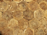 Bruk dębowy - plaster miodu