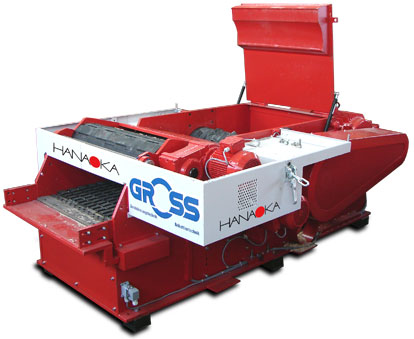 Rębak do zrzynów GROSS - 3500 kg/h