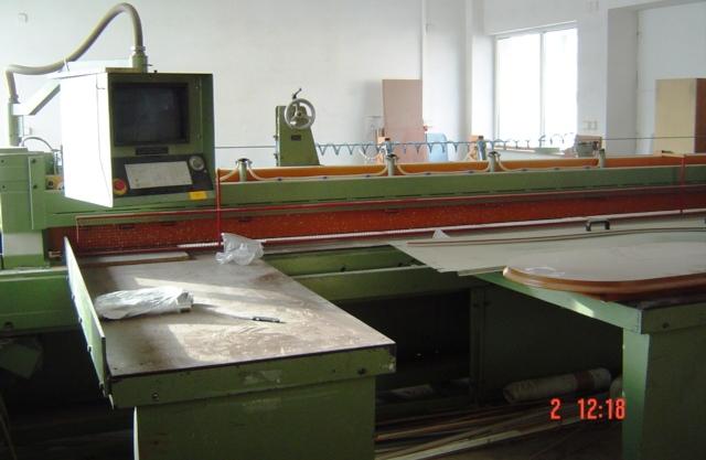 PIŁA PANELOWA CNC z optymalizacja SCHEER