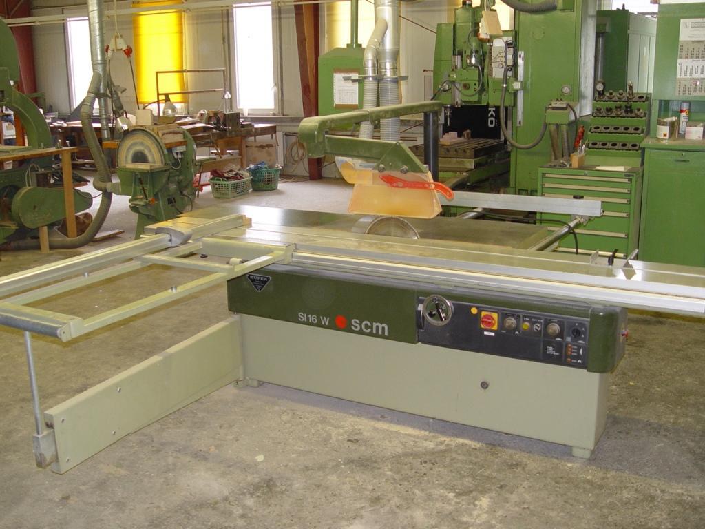 Pila Formatowa SCM SI 16 z podcinakiem