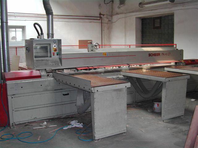 Piła panelowa firmy SCHEER PA 4127