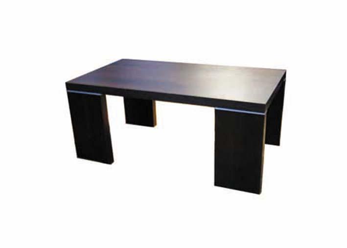 stoliki z aluminiowymi profilami