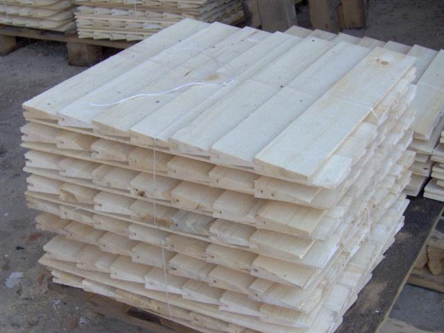 Gont drewniany.