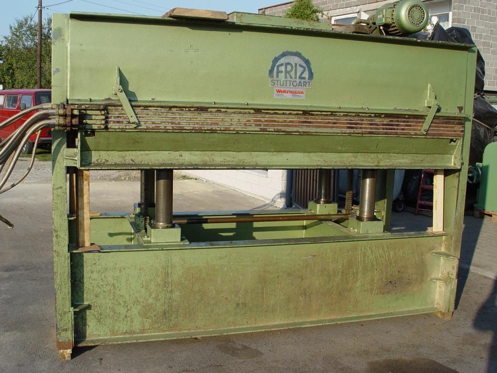 Prasa Hydrauliczna 4-pulkowa FRITZ 2500x1300mm