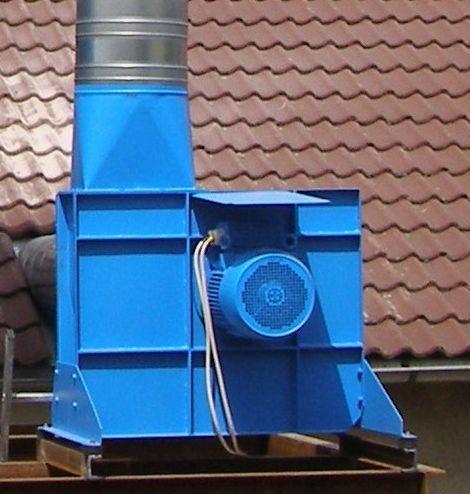 WENTYLATOR  TRANSPORTOWY   8 350m3/h _7,5 kW