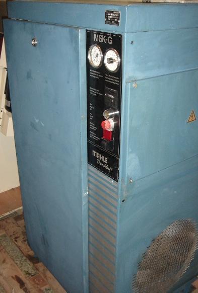 Kompresor śrubowy MAHLE Druckluft