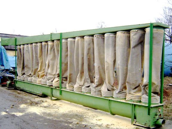 Odciąg-odpylacz o wydajności 18000m3/h