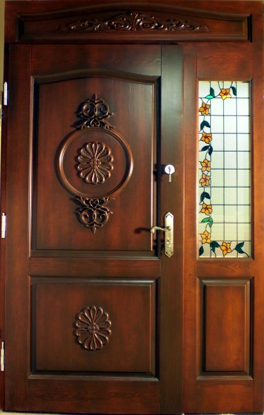 Drzwi rzeźbione z litego drewna !!! Drzwi wewnętrzne i zewnętrzne !!!