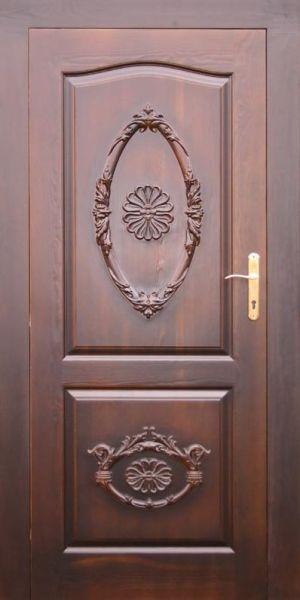 Piękne drzwi z motywem rzezbionym, LITE DREWNO !!!