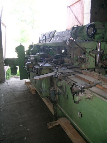 Strugarka 4 stronna firmy Weinig U14 N do Mokrego Drewna