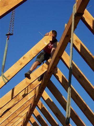 Wykonanie gotowej do montażu więźby dachowej