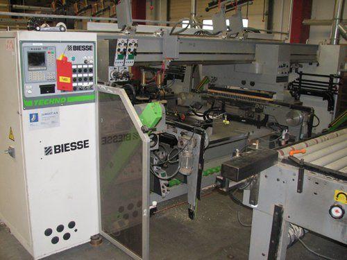 BIESSE TECHNO wiertarka przelotowa CNC