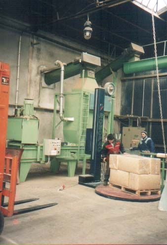 Linia do produkcji podściółki