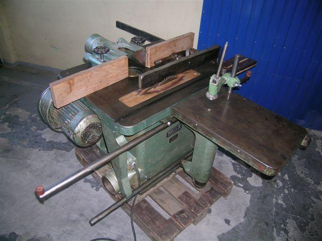 Frezarko-pilarka REX z bocznym wózkiem