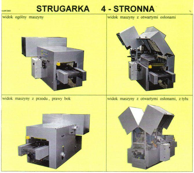 Strugarki 4-stronne