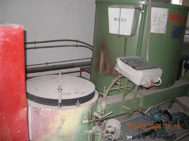 Automatyczny zespół spalania odpadów