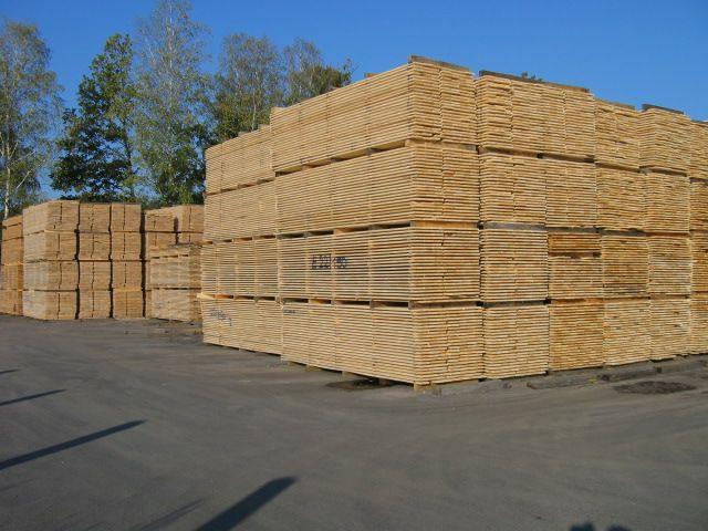Drewno budowlane-duże ilości