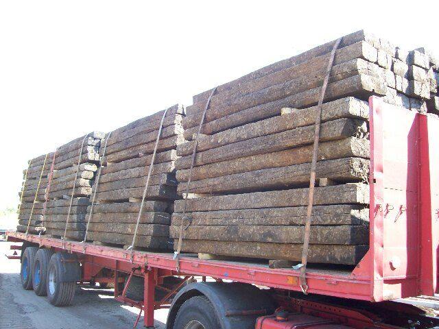 Sprzedam podkłady kolejowe drewniane